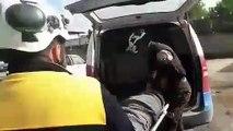 طيران ميليشيا أسد يرتكب مجزرة في معرة النعمان جنوب إدلب