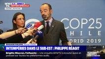 Intempéries dans le Sud-Est: Philippe réagit - 02/12