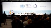 Hoesung Lee (IPCC) durante la ceremonia inaugural de la COP25 en Madrid