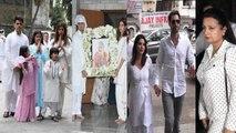 Bollywood Celebs ATTEND CONDOLENCE MEET Of Dabboo Ratnani's Mother's Prabha Ratnani