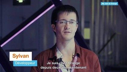 Sylvain, développeur et apprenti chez Orange