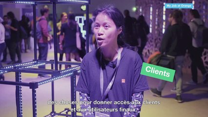 Thi Cam, développeuse chez Orange