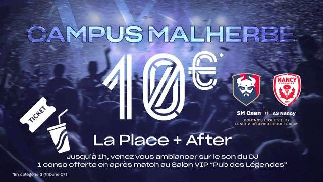 Dernières places disponibles pour la Soirée Campus Malherbe