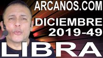 LIBRA DICIEMBRE 2019 ARCANOS.COM - Horóscopo 1 al 7 de diciembre de 2019 - Semana 49