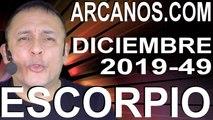 ESCORPIO DICIEMBRE 2019 ARCANOS.COM - Horóscopo 1 al 7 de diciembre de 2019 - Semana 49
