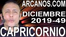 CAPRICORNIO DICIEMBRE 2019 ARCANOS.COM - Horóscopo 1 al 7 de diciembre de 2019 - Semana 49