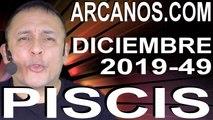 PISCIS DICIEMBRE 2019 ARCANOS.COM - Horóscopo 1 al 7 de diciembre de 2019 - Semana 49