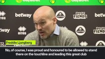 'Proud & honoured' Ljungberg after Arsenal draw 2-2 with Norwich City