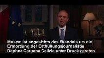 Skandal um Mord an Journalistin: Maltas Regierungschef tritt zurück