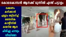 viral video of elephant's entry to army canteen   Oneindia Malayalam