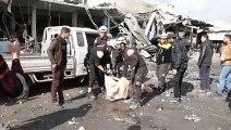 مقتل 15 مدنياً في غارات لقوات النظام السوري على محافظة إدلب (المرصد)