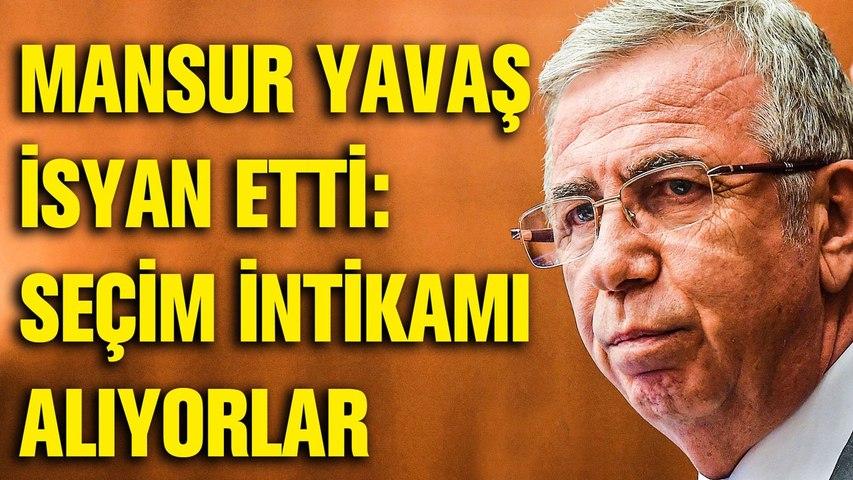 Mansur Yavaş Erdoğan'ın sözünü hatırlattı: Seçim intikamı alınıyor