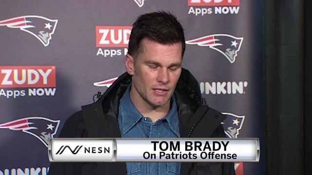 Tom Brady Patriots vs. Texans Week 13 Postgame Press Conference