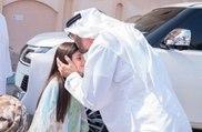 الشيخ محمد بن زايد ولي عهد أبو ظبي يزور الطفلة عائشة بمنزلها لهذا السبب