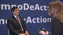 Carlos Alvarado en la COP25 de Madrid