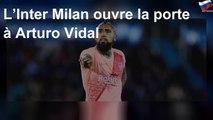 L'Inter Milan ouvre la porte à Arturo Vidal