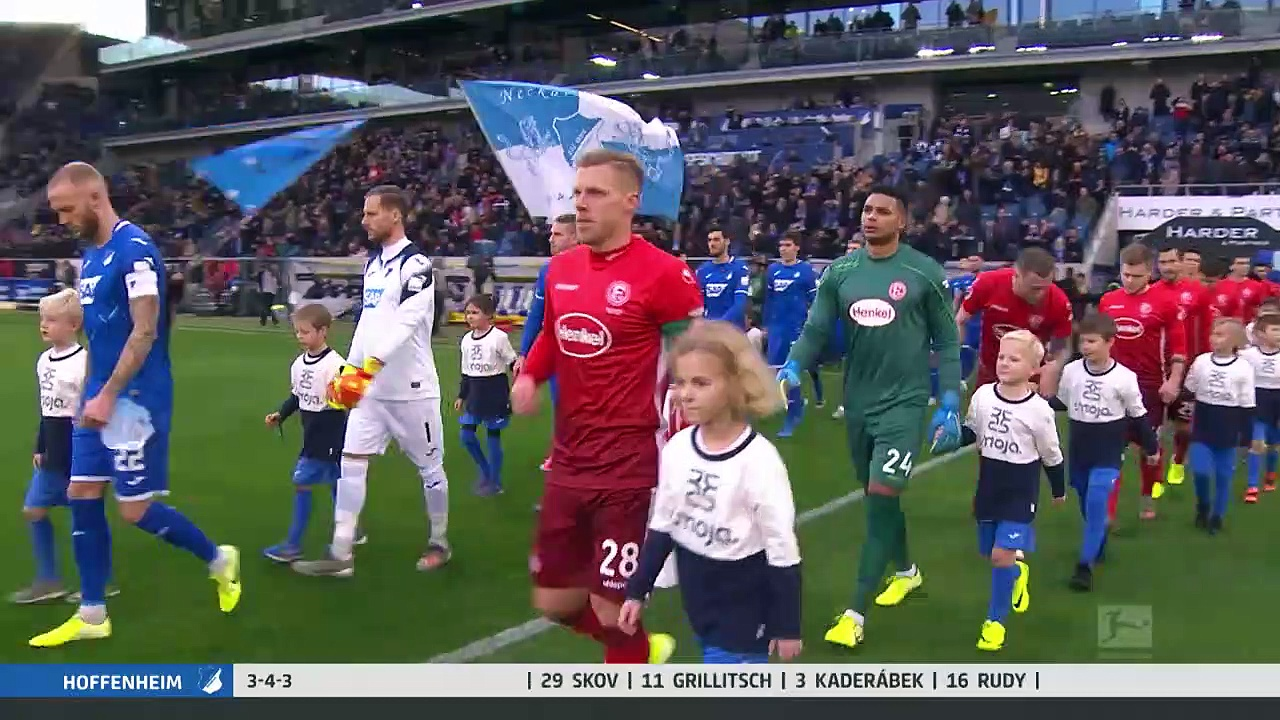 Hoffenheim - Fortuna Düsseldorf (1-1) - Maç Özeti - Bundesliga 2019/20