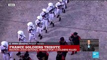 "France soldier tributes ""all these soldiers were united in one cause"""