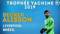 Alisson Becker remporte le Trophée Yachine 2019 !