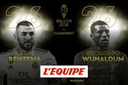 Benzema 26e - Foot - Ballon d'Or France Football 2019