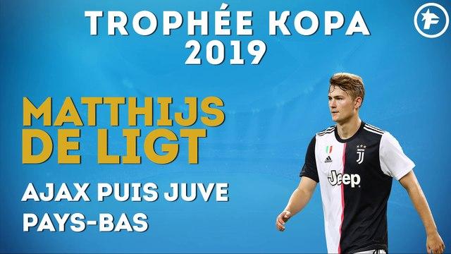 Matthijs de Ligt remporte le Trophée Kopa 2019