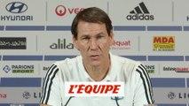 Garcia espère le retour des blessés face à Lille - Foot - L1 - OL