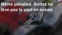GP d'Abu Dhabi: Bottas ne lève pas le pied en essais