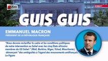 Guis Guis de Emmanuel Macron dans Jakaarlo bi du 06 Décembre 2019