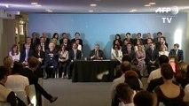 Fernández apresenta gabinete
