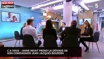C à vous : Anne Nivat prend la défense de son compagnon Jean-Jacques Bourdin (vidéo)