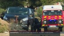 Intempéries dans le Sud-Est : trois secouristes tués dans un accident d'hélicoptère