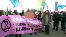 Protestos em Madrid no início da COP25