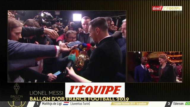 Abidal «Messi, c'est que du bonheur de l'avoir dans l'équipe» - Foot - Ballon d'Or