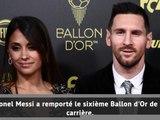 Ballon d'Or - Lionel Messi remporte le trophée pour la sixième fois