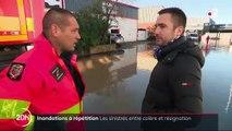 Inondations dans le Sud-Est : le découragement de la population