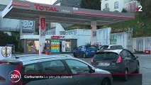 Carburant : la pénurie s'étend peu à peu