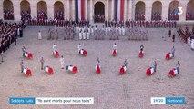 Hommage aux militaires tués au Mali : une décoration à titre posthume