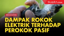 Asap Rokok Elektrik terhadap Perokok Pasif, Ini Bahayanya