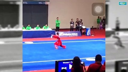 Agatha Wong grabs second gold, this time for Women's Taijijian