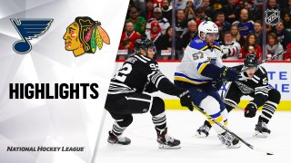 Chicago Blackhawks vs. St. Louis Blues - Game Highlights