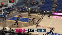 Donta Hall Posts 15 points & 10 rebounds vs. Salt Lake City Stars