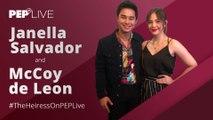 Janella Salvador, McCoy de Leon recalls experience working with Maricel Soriano   PEP Live