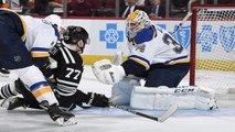 Jake Allen's 38-save shutout