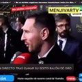 El corte de Messi a Edu Aguirre ya es 'trending topic'