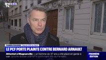 Pourquoi le PCF assigne en justice Bernard Arnault