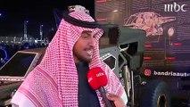 شاب سعودي يبتكر سيارة تسير على قمم الجبال بسهولة وانسيابية