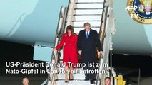 Trump zu Nato-Gipfel in London eingetroffen