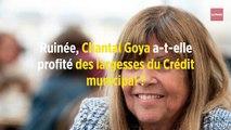 Ruinée, Chantal Goya a-t-elle profité des largesses du Crédit municipal ?