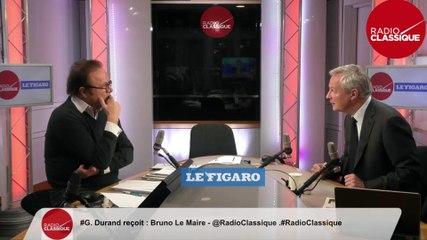 Bruno Le Maire - Radio Classique mardi 3 décembre 2019