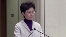 China, HK voice anger against U.S. law